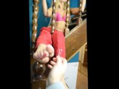 tickling 19 yo feet