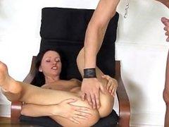 Sexy gf sex in public