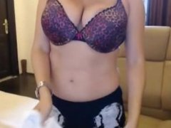 Teen Girl With Big Tits Stripping