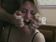 Amateur Mature Gets Throat Fucked On Webcam