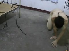 Smooth Asian Slave Doggy Trainning