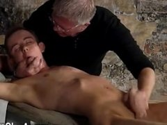 Gay XXX British twink Chad Chambers is his recent victim, held and