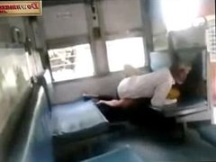 Matured Bhavi Enjoying n fucking in Train