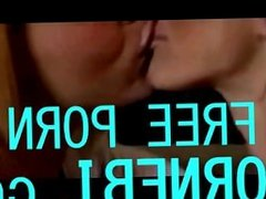Mother and doughter lesbian kiss
