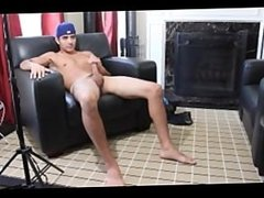 LATINO BAD BOY-JUAN CARLOS BEATS HIS BIG COCK FOR YOU.