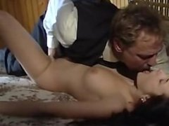 German Girl with Big Breasts gets fucked