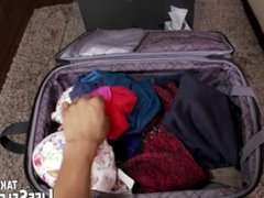 Mismatched luggage leads to sexy surprise...