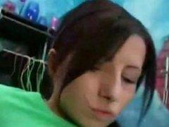 Mexicana adolescente cogiendo a un gringo americano