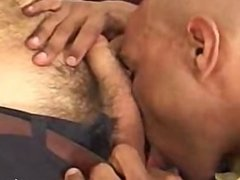 White boy fucks sexy black hunk