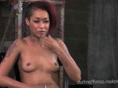 Cassandra Nix Bound & Blindfolded so She Must Suck Dick