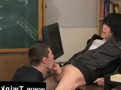 Hot gay scene It's time for detention and Nate Kennedy, the teacher, is