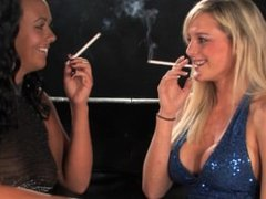 imogen and sophie smoking fetish