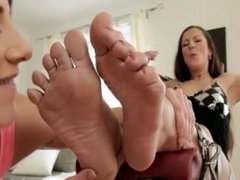Worshipped Feet by Milf Valentina