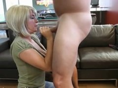 Blowjob by neighbor lady