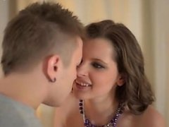 Young teen swallow