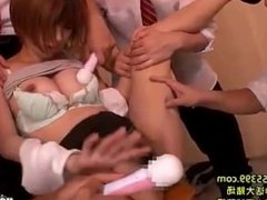 Japanese Girls attacked hot jav cowgirl at subway.avi