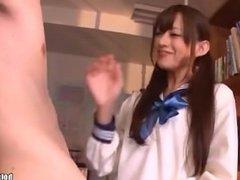 Japanese Girls entice hot jav sister in kitchen.avi