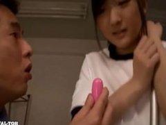 Japanese Girls fucked lustful school girl in bed room.avi