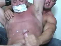 bound and jerked off