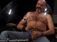 Bareback Daddy Bear Top Fucks 2 Submissive Bottoms