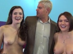 ImmoralLive Girl licking cum from my ass! Amateur threesome!