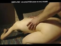 Amateur Girl Dildoing Ass And Anal Fuck On Webcam
