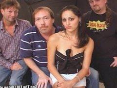 Sexy Stripper Slut Fucked by 3 Cocks!