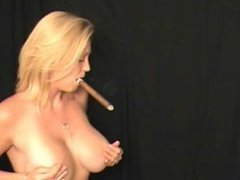 smoking cigar sex