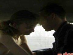 outdoor sex in car