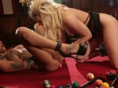 Bonnie Rotten is a lesbian strap-on specialist