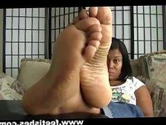 plush feet soles ebony