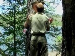 Hot twink Bareback Scouts Earn A