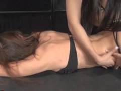 Veronika Face Down Tickle and Foot Licking