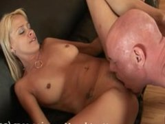 Payton Leigh is gets fucked on the couch