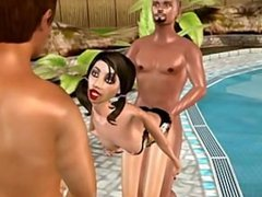 Niki's pool fuck