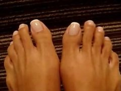 Perfect French Pedicure Foot Tease JOI