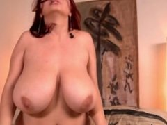 Big tits mature redhead