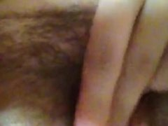 amazing girl plays with pussy till she orgasms