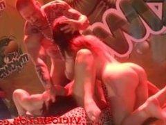 Foursome Julia de Lucia, Valentina Bianco, Amanda X y Rob Diesel by Viciosi