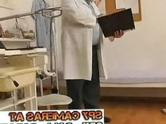 Hospital Exam with Amazing Teen Perfect Pussy Ass Spy Cam - Hidden Camera