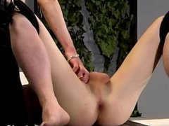 Gay clip of That's what Brett is faced with in this domination session,