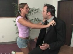 Bad Girl Teen Fucks Her Teacher In The Classroom