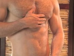 Hairy Muscled Stud Silas Zaros