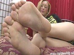 Julie sexy feet