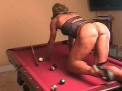 Teasing in the pool table