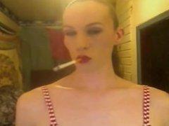 slick ponytail chainsmoking bitch