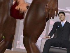 Animated Slut makes Hubby Cuckold
