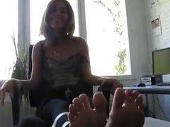 Brazil tickle feet