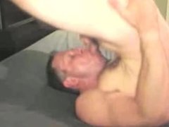 self suckers eating cum 2