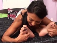 Danica foot tickle